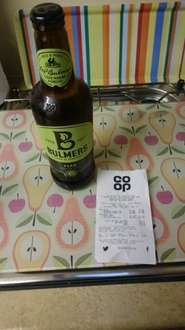 bulmers pear cider 88p @ co-operative food Cockermouth