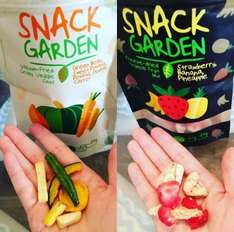23% OFF -Pack of 10-Snack Garden freeze dried mix fruit and vacuum fried vegetables crisps £16.99 (Prime) Sold by SnackGarden and Fulfilled by Amazon.