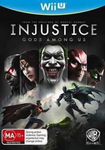Injustice Gods Among Us (Wii U) £6.95 Delivered @ TheGameCollection via eBay (Import)