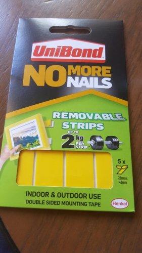 unibond no more nails removable strips £1 @ Poundland