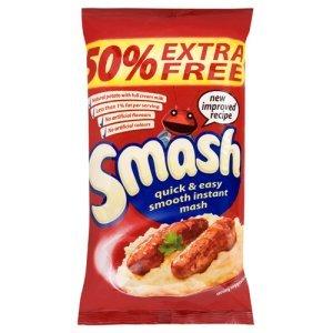 50% Extra FREE Smash Instant Mash Potato (264g) ONLY £1.00 @ Iceland