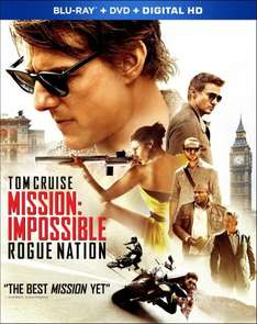 [2 for £7.20 Blu-Ray] Mission Impossible: Rogue Nation / Ted 2 / Terminator Genisys / R.I.P.D 3D / Minions / Fast & Furious 7 [Using Codes] @ Music Magpie