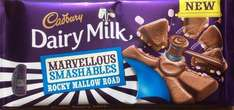 2 for £1 (instore only) 180g cadbury rocky road marvellous creations - poundland