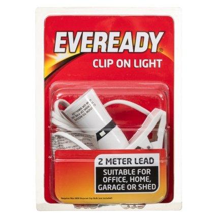 Eveready Clip On Light £1 @b&m