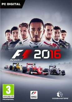 F1 2016 + Career Booster DLC Pack (PC Steam) £26.99