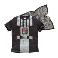 Star Wars Boys' Novelty Top & Cape now £2.99 @ Argos