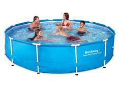8ft BestWay Steel Frame Swimming Pool was £139.99 now £49.99 (Free Del) @ Groupon