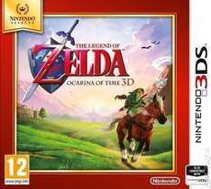 The Legend of Zelda: Ocarina of Time 3DS £11.87 @ Music Magpie (with codes)