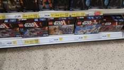 Lego star wars half price £10 rtc Tesco in store - Galashiels