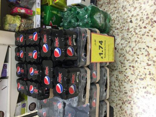 Pepsi max 6x330 £1.74 @ Tesco - Romford
