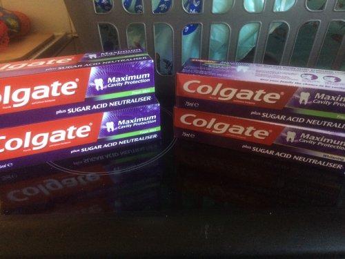 Colgate cavity toothpaste 91p in store Asda.