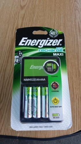 Energizer Maxi Charger & 4X(1300mah AA) £3.75  Tesco