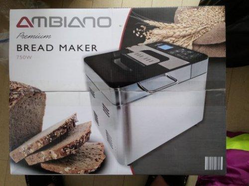 ALDI Ambiano Bread Maker 750W £29.99 40% off in-store (Peterborough)