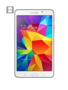 Samsung Galaxy Tab 4 Quad Core Processor, 1.5Gb RAM, 8Gb Storage, 7 inch Tablet - White £99 @ Very - free c&c