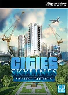 Cities Skylines Deluxe Edition (PC game) physical copy £1.99 delivered @ game.co.uk