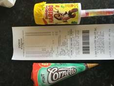 20p each Mint cornetto and haribo push up ice creams @ Tesco express