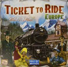 Ticket to Ride Europe (board game) £23.98 @ amazon