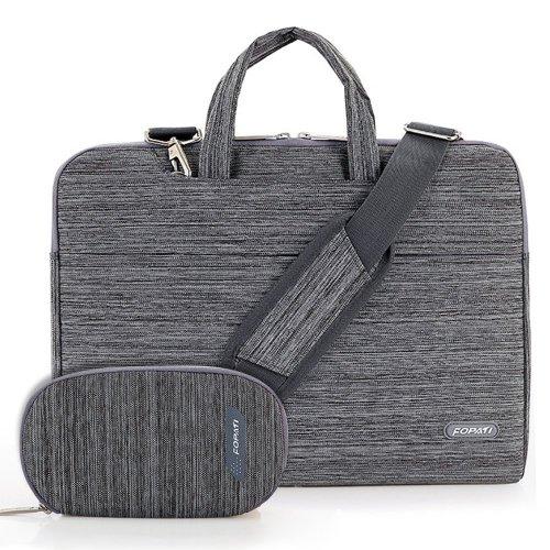Fopati 13-13.3 Inch Laptop Tablet Shoulder Bag/ Briefcase Sleeve Case Bag for Notebook/Laptop/MacBook, Gray just £2.99 Prime @ Amazon