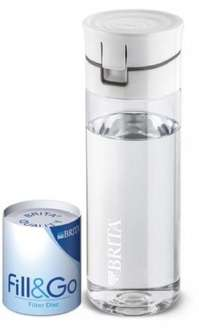 Brita Fill & Go Filtering water bottle with 4 free filters at Morrisons Tamworth £3.99