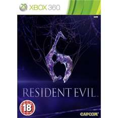 Resident Evil 6 Xbox 360 £2.49 with free Click and Collect @ Toys R Us