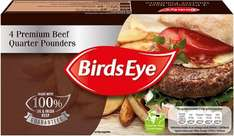 Birds Eye Premium Beef (89%) Quarter Pounders (4 per pack - 454g) was £3.00 now £1.50 @ Iceland