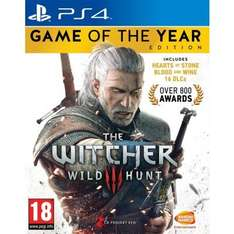 The Witcher 3 GOTY XBOXONE / PS4 @ The Game Collection - £31.95