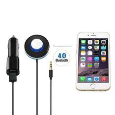 LDream Bluetooth Receiver Car Kit 3.5mm Aux Output with 5V/3A Dual USB Charger Prime £12.99 delivered Sold by LDream-UK and Fulfilled by Amazon. Non-Prime £16.98