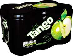 Tango Apple or Orange Drinks (6 cans x 330ml) ONLY £1.50 @ Iceland