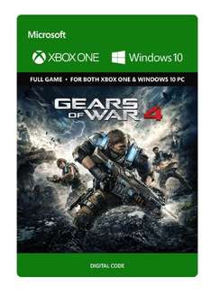 Gears of War 4 Pre Order for Xbox one and Windows 10 £49.99 @ Amazon
