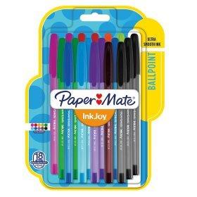Papermate Ink Joy Pens 18 pack Multicoloured £2.99 at B&M Bargains