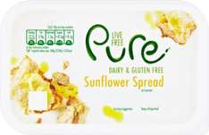 Pure Dairy Free Sunflower Spread (500g) was £1.60 now £1.00 @ Sainsbury's