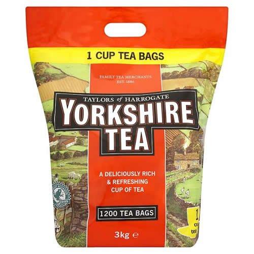 1200 yorkshire teabags £12.99 @ Makro (£4.99 del if under £60 spend)