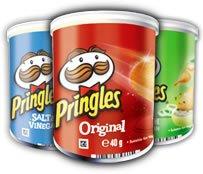 its back!! Pringles mini 40g 3 for £1 @ poundland [original/sour cream/BBQ]
