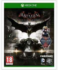 Batman Arkham Knight (New) xbox one  £12.14 with code at music magpie