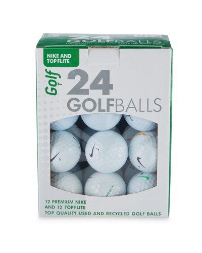24 Nike and Topflite lake golf balls £6.99 at Aldi