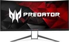 Acer X34A Ultrawide 3440x1440 Curved IPS Monitor G-Sync 100hz (OC)  £899.99 @ Amazon