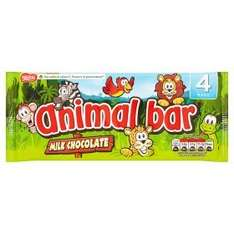 4 x Animal Bars (Still in foil & paper with game inside wrapper!) 75p @ ASDA