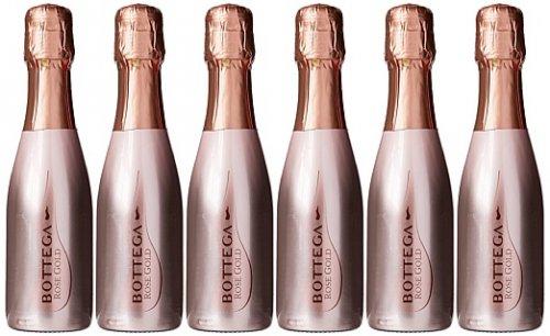 Bottega Rose Gold Pinot Spumante NV 20cl ***Case of 6*** £7.99 (Prime) £12.74 (Non-Prime) @ Amazon