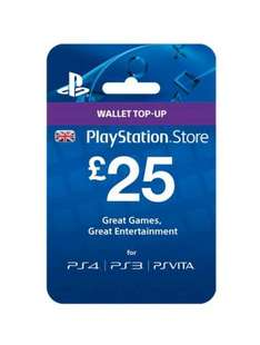 £75 Playstation Store Credit for £65 with Code @ Tesco Direct