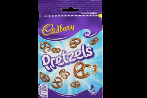 Cadbury Milk Chocolate Pretzels 110g - 39p @ B&M
