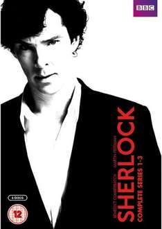 Sherlock Series 1-3 DVD used only £2 plus other great titles @ BHS