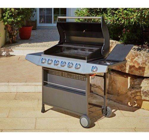 This Premium 6 Burner Gas BBQ with Side Burner £129.99 + £6.95 Delivery @ Argos_ebay