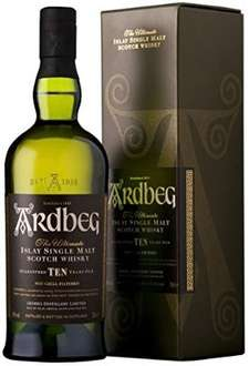 Ardbeg 10 year old malt whisky - £37 @ Amazon