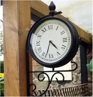 Kingfisher Victorian style Garden Clock £10.78 (inc VAT) and Free Delivery @ CPC