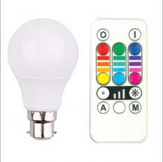 Colour Changing Light Bulb £4.00 Free Click & Collect @ B&Q
