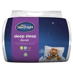 Silentnight Deep Sleep 13.5 Tog Duvet Super King Read £12.15 (+ £2 C+C) @ Tesco Direct