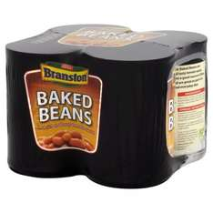Branston Baked Beans (4 x 410g) was £2.00 now £1.50 @ Morrisons & Ocado