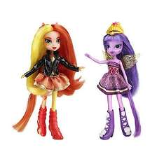 My Little Pony Equestria Girls Sunset Shimmer & Twilight Sparkle £9.99 @ The Entertainer