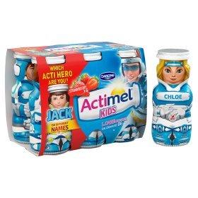 Actimel Kids Yogurt Drinks (6 x 100g) was £2.00 now £1.00 (Rollback Deal) @ Asda