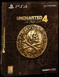 Uncharted 4: A Thief's End Special Edition + Uncharted 4 DLC Pre Order Pack -  £36.85 -  Shopto